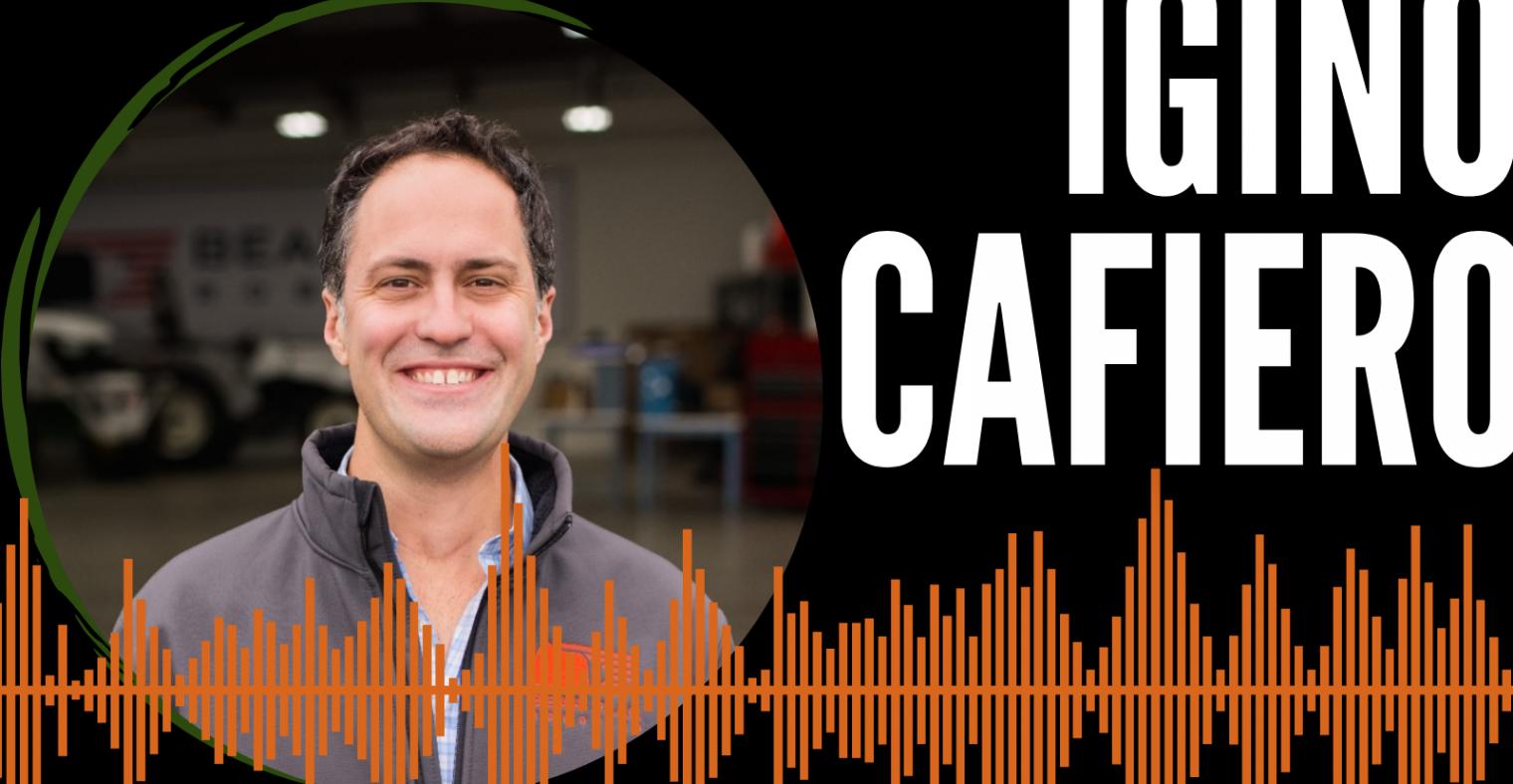 Bear Flag Robotics' CEO and Co-Founder Igino Cafiero