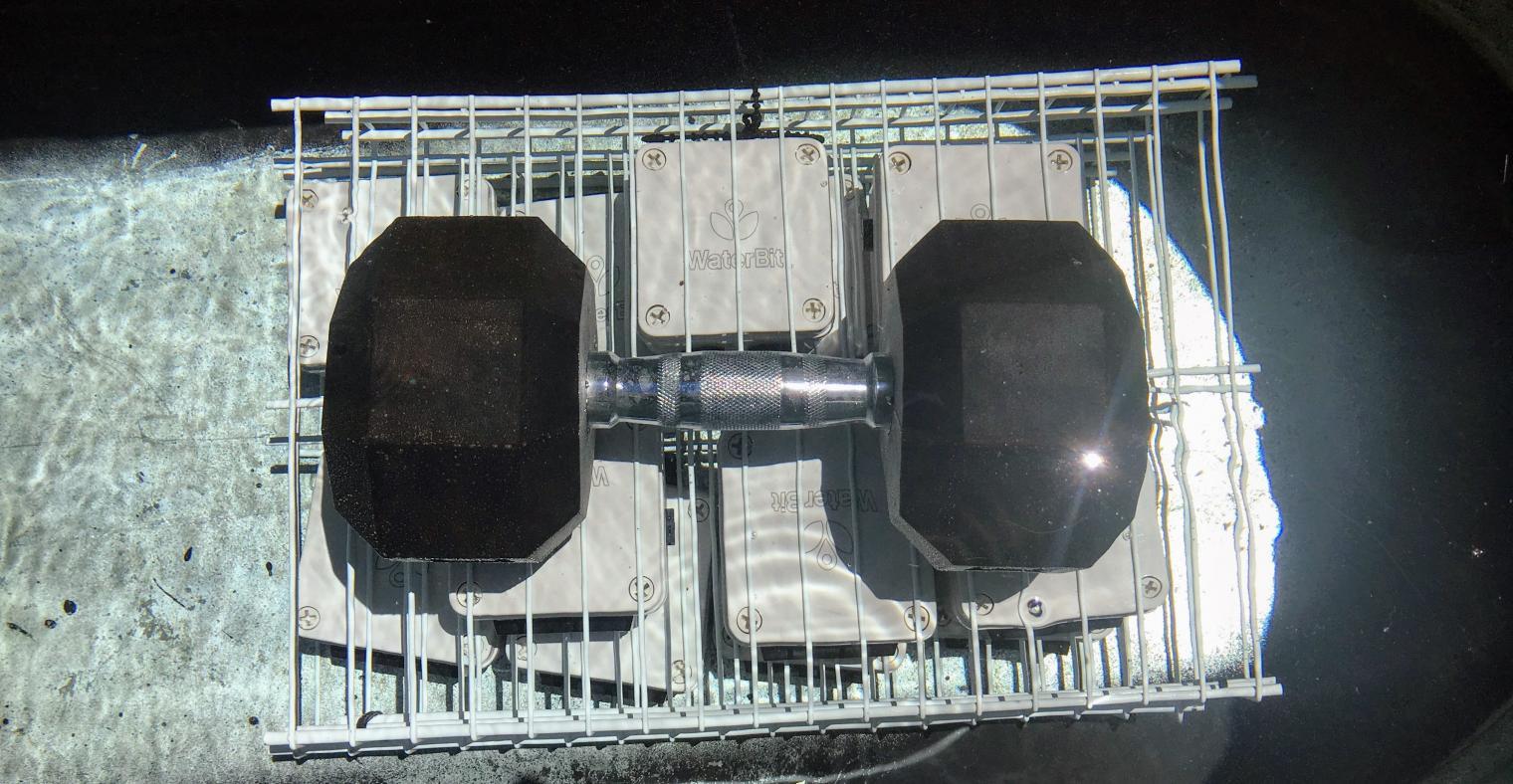 WaterBit Carbon Submerge Test